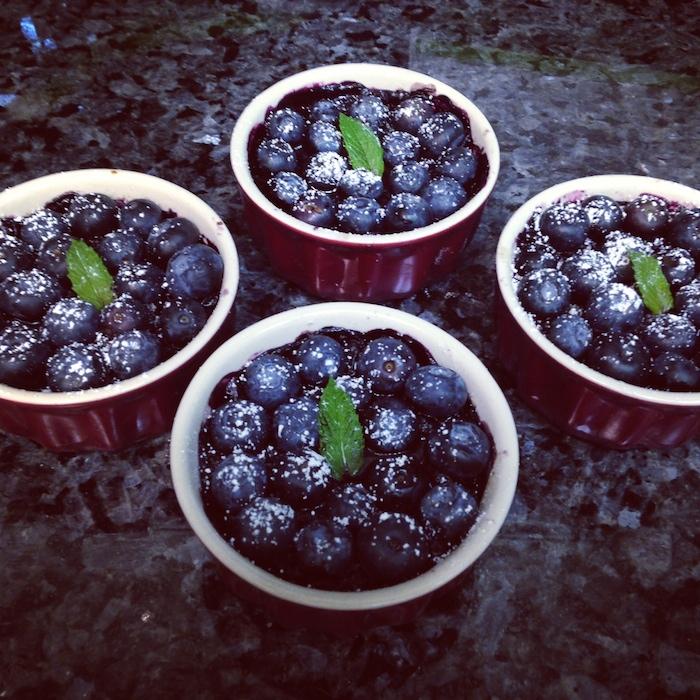 Mini Blueberry Torts