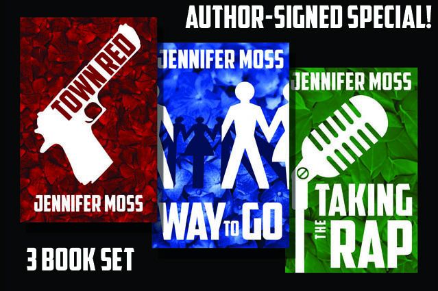 Get a SIGNED 3-Book set of the Ryan Doherty Mysteries with a metaphysical twist! All 5-STARS on Amazon and B&N