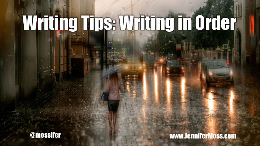 Writing Tips: Writing in Order